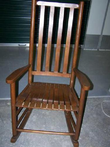 Free Wooden Rocking Chair for sale in Columbia, South Carolina ...