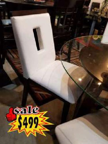 Glass Table Comes in White Color