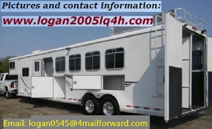glSSI&Y 2005 Logan Qualifier 4 Horse Trailer