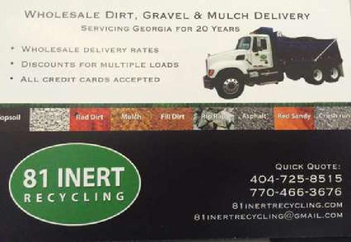 Gravel Delivery Atlanta