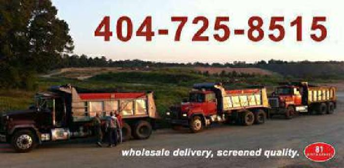 Gravel Delivery / [phone removed] / Topsoil Fill Dirt