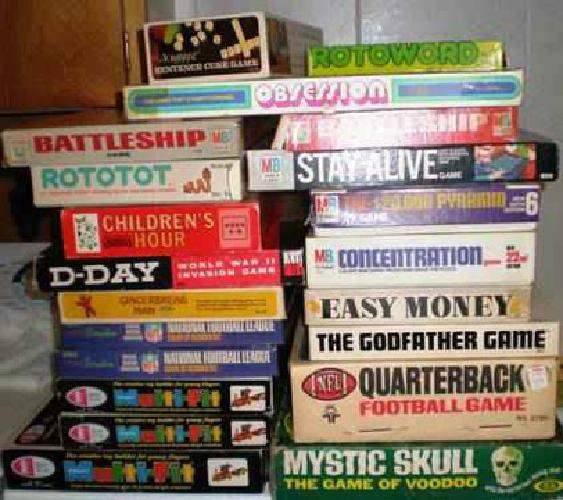 60s Board Games gw 192 Vintage Board Games