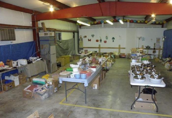 Huge Indoor Yard Sale