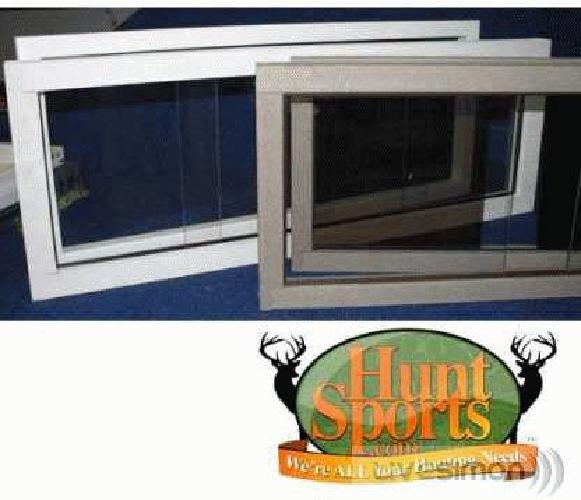 Hunting Deer Blind Windows DeerBlind Window Blynd Plexi