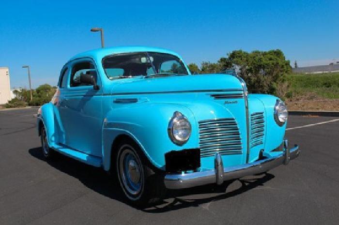 Impressive 1940 Plymouth Deluxe