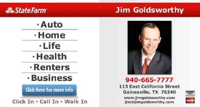 Jim Goldsworthy - State Farm Insurance Agent