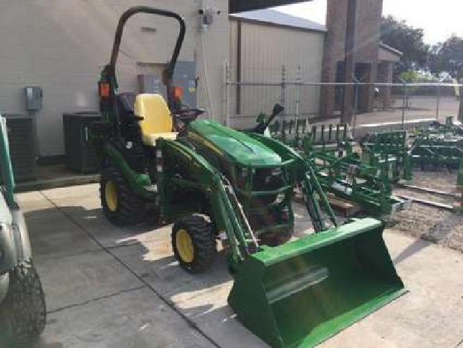 John Deere 1025R Tractor w/ Loader and Backhoe (TLB)