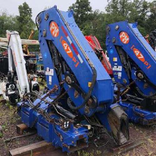 K612 - 2006 PM 47025 Unmounted Knuckleboom; 23 Ton