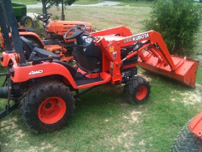 Kubota Bx2200d 22hp Tractor 4x4*Loader*Hst*Rops*