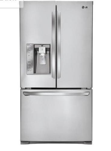 LG Super Capacity Stainless Steele Refrigerator