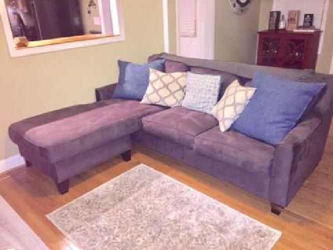 Like New Gray Sectional Couch