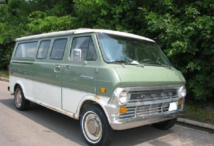 LLLL|||||1973 Ford Turtle Top Camper