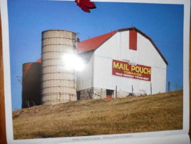 MAIL POUCH BARN >>>>>the LAST one ever painted
