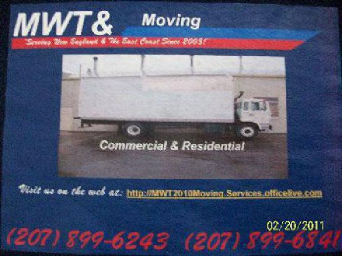 MAINEWAY TRUCKING MOVING===(Above Beyond!)===