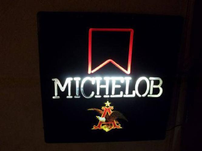 michelob beer sign for sale in Kokomo Indiana Classified #1: michelob beer sign