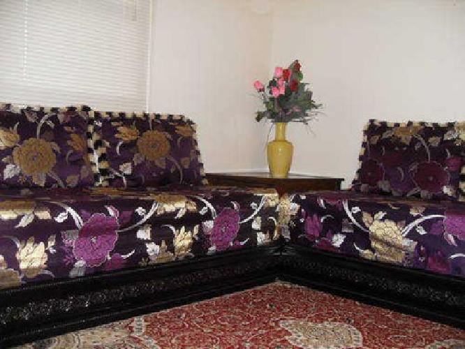 Moroccan salon living room for sale in lodi new jersey for Moroccan living room furniture 02