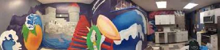 Muralist MURALS MURALS business logos paintings