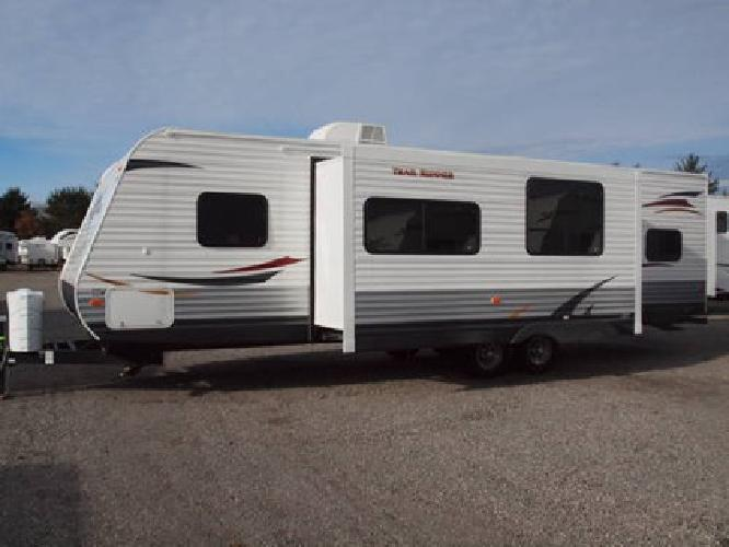 New 2012 Heartland 30usbh Trail Runner Quad Bunkhouse For