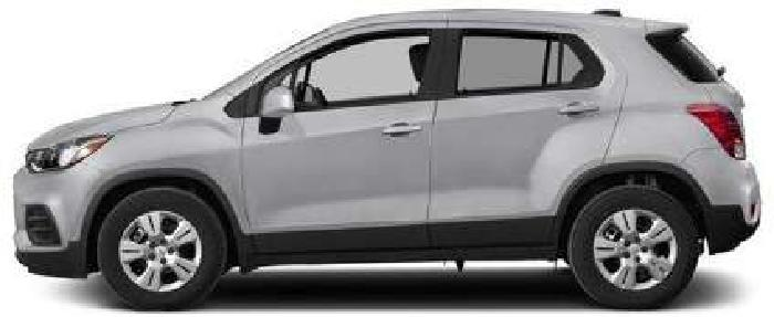 New 2018 Chevrolet Trax FWD 4dr