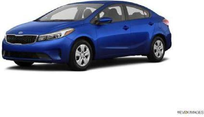 New 2018 Kia Forte 4dr Car