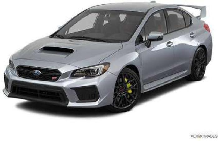 New 2018 Subaru WRX Manual