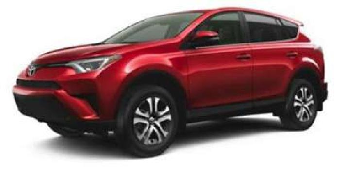 New 2018 Toyota RAV4 SUV