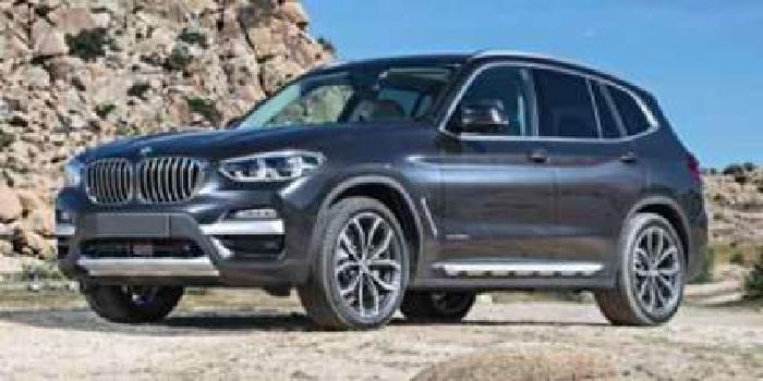 New 2019 BMW X3 Sports Activity Vehicle