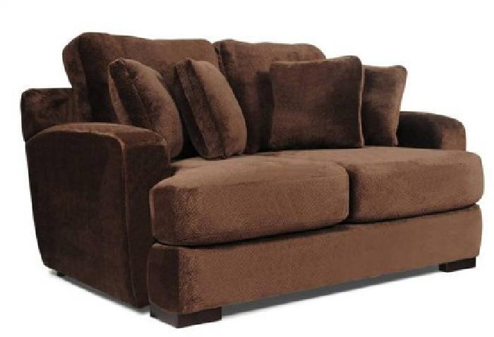 New Super Plush Royale Sofa And Love Seat Group Military
