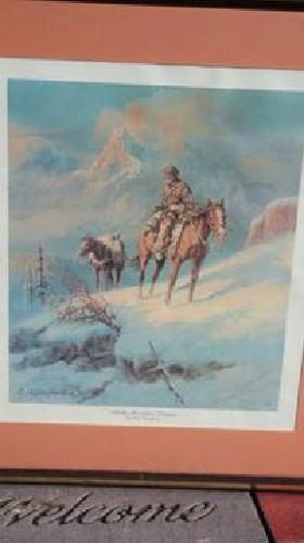 Olaf Wieghorst (Rocky Mountain Trapper)