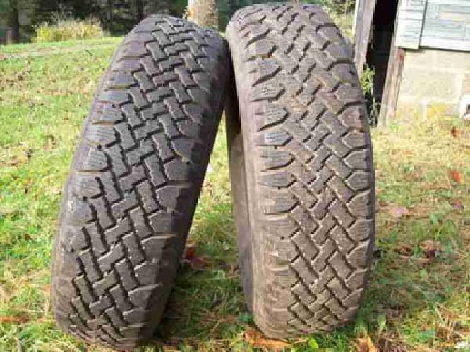 P235-75R15 winter tires (Conneautville,Pa.)