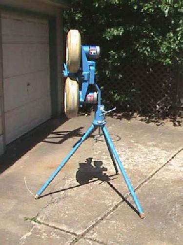 used iron mike pitching machine for sale