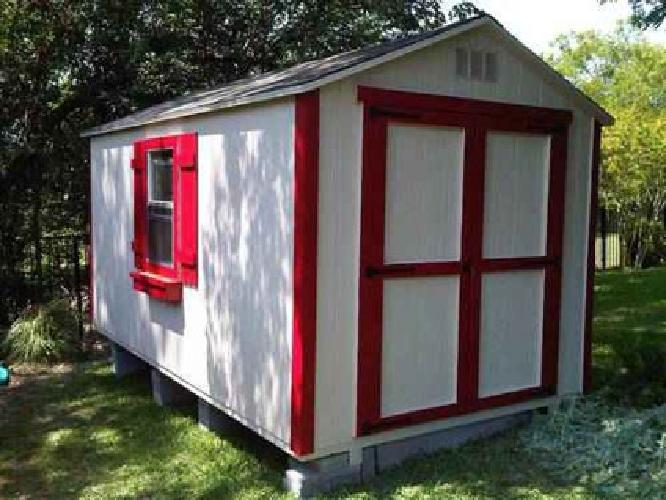 Portable storage sheds for sale for Garden sheds built on site