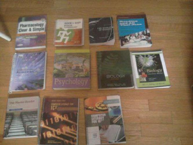 PPCC BOOKS FOR SALE (Security , CO)