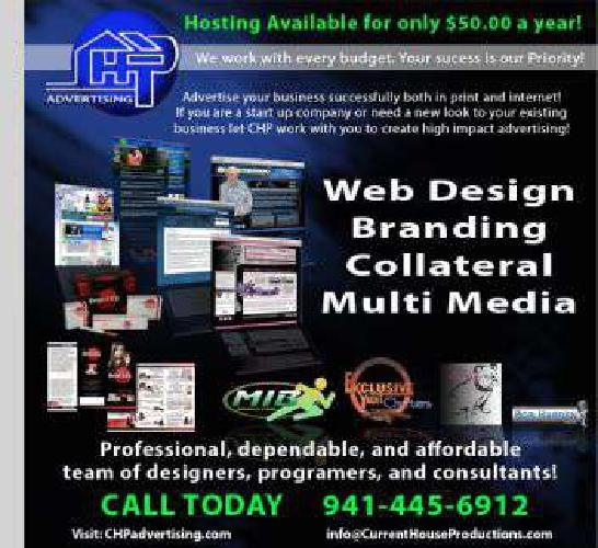 Professional and affordable web design and more