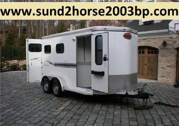 qYUP 2003 Sundowner 2 Horse Trailer GTE