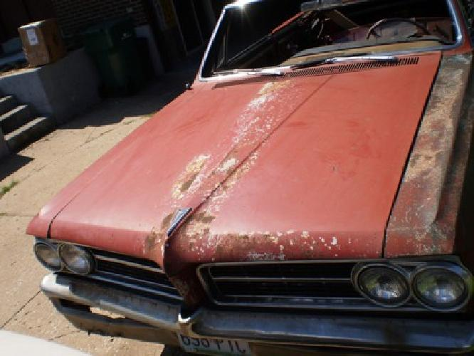 Rare Pontiac 1964 64 Lemans Tempest Gto Hood Oem 389 421 428 326