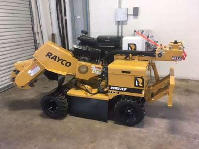 RAYCO RG37 Super Jr Self-Propelled Stump Grinder