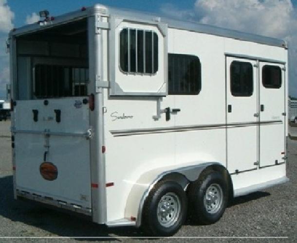 rTEHGD 2013 Sundowner 2 Horse Trailer Charter TR SE - FREE DELIVERY