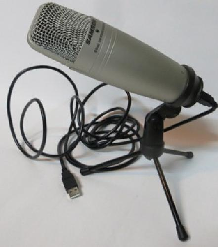 Samson c01u microphone with stand