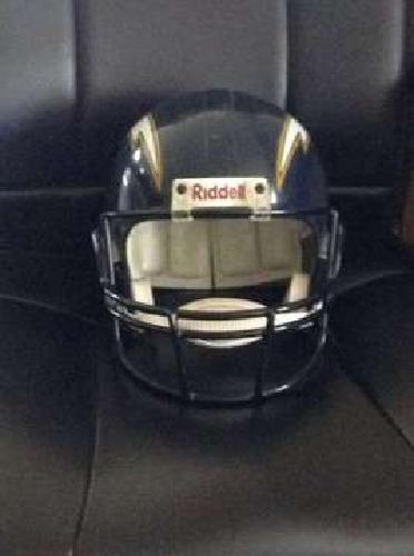 San Diego Chargers Throwback Riddell Helmet