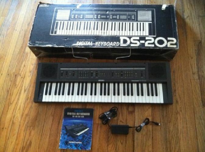 Seiko Digital Keyboard DS-202