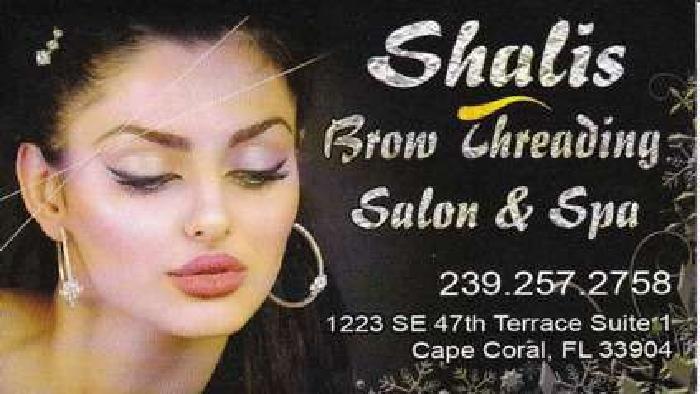 Shalis Brow Threading Salon & Spa