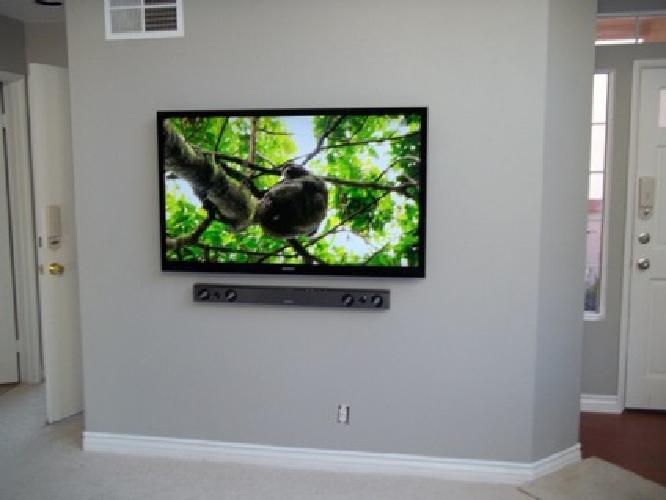 Smart TV Wall Mount Installation - Free Wall Mount