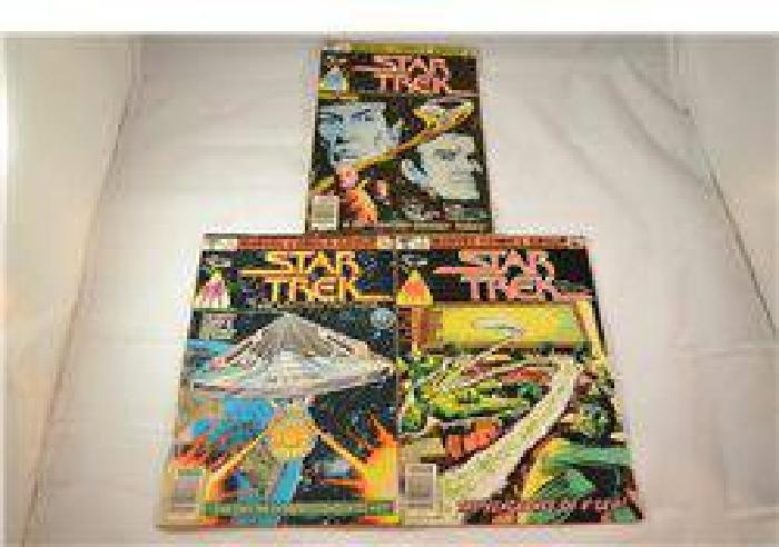 Star Trek The Motion Picture Comics Number 1-3