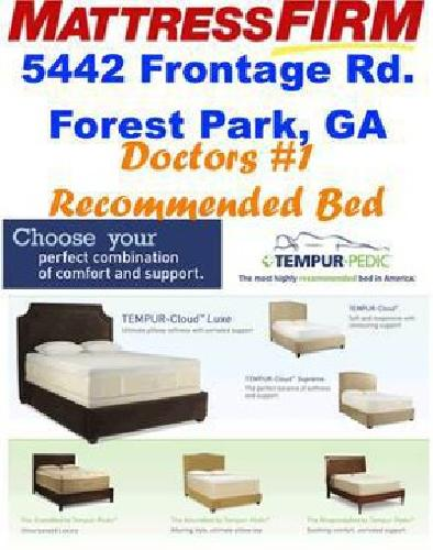 Tempur-Pedic Mattresses (Free Delivery TODAY ONLY)