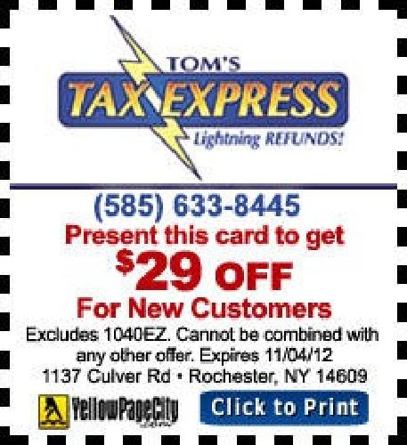 Tom's Tax Express LLC