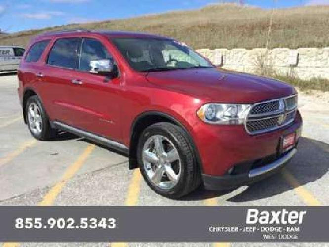 Used 2013 Dodge Durango AWD 4dr