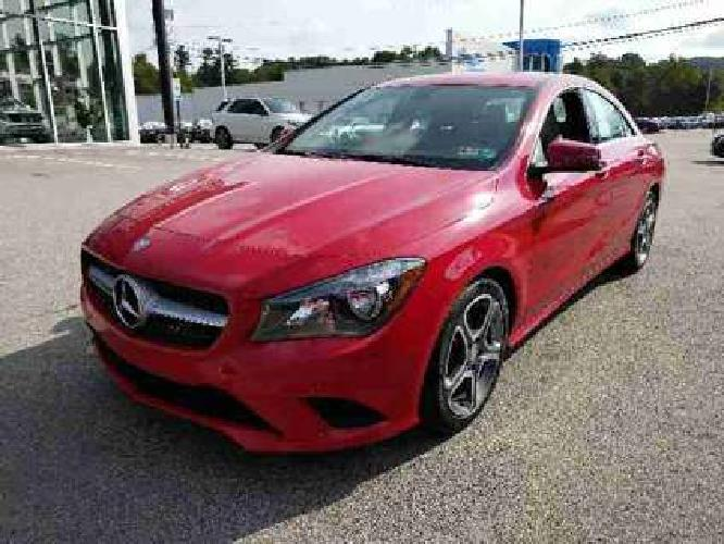 Used 2014 Mercedes-Benz CLA-Class 4dr Sdn 4MATIC