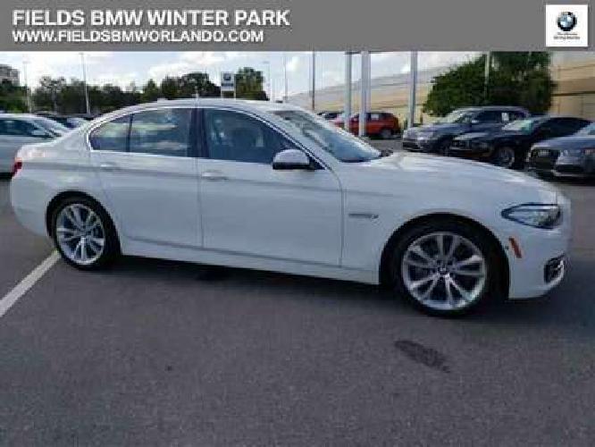 Used 2016 BMW 5 Series 4dr Sdn RWD