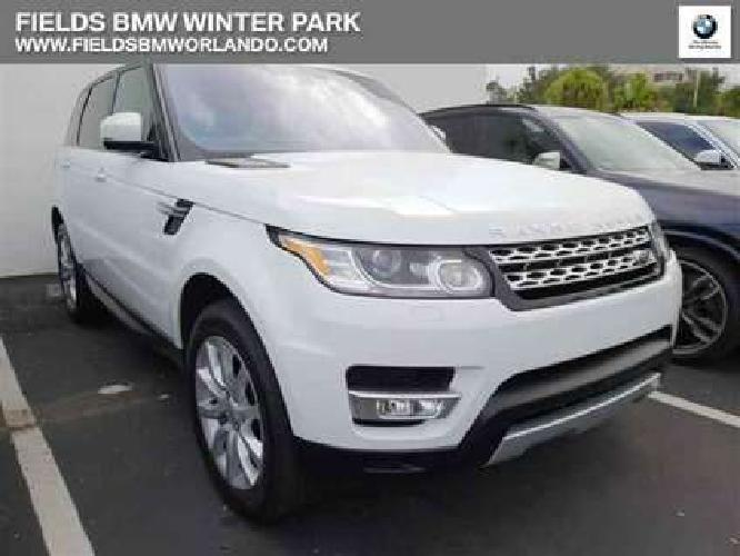 Used 2016 Land Rover Range Rover Sport 4WD 4dr
